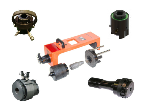 hydraulic bolt tensioners group photo
