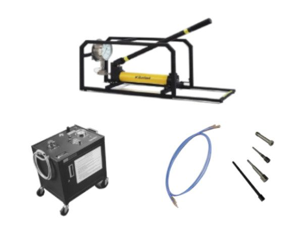 hydraulic pump kits and accessories group photo